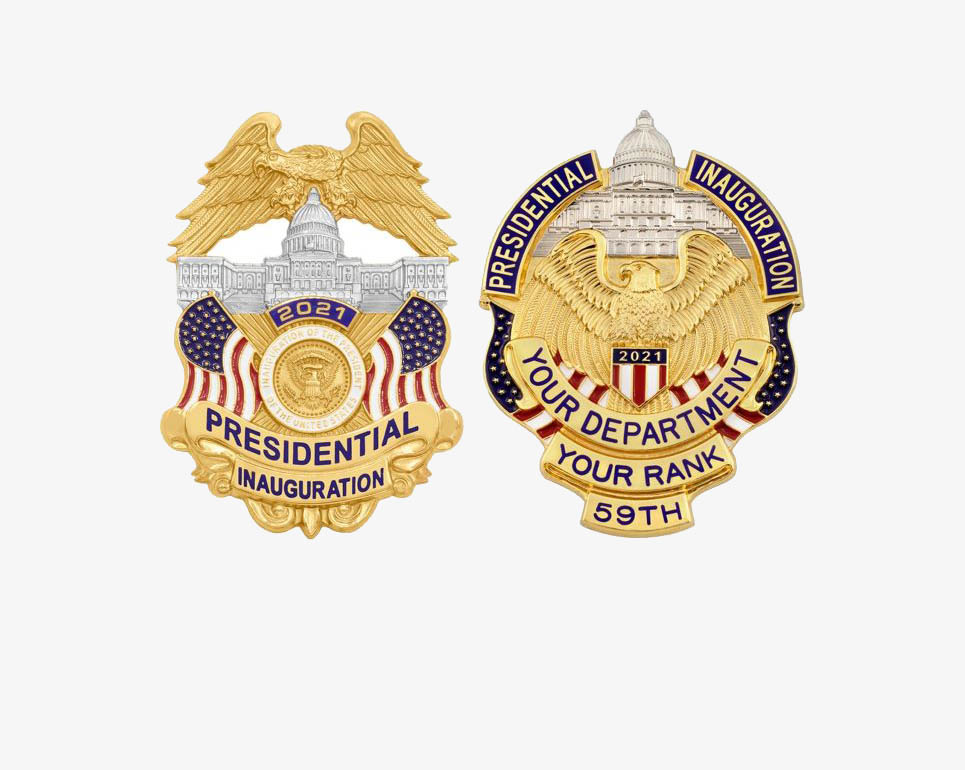 INAUGURATION BADGES
